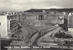 CAGLIARI - Piazza Repubblica, Palazzo di Giustizia (anni '50-'60)