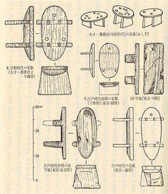 illustration geisha shoes #shoes #geisha #illustration #history #japan #wood