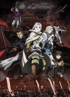 Anime:Arslan Senki Genre:Action,Adventure Story:Prince Arslan of Pars first battle against the neighboring kingdom Lusitania was going to be a sure victory.Nobody suspected that the battle was a trap.After their army was crushed by the Lusitanian army,Arslan flees the battlefield with his loyal servant,Dayrun.They quicky find out that Lusitania has killed the king and took over Pars. Age Recommended:15+