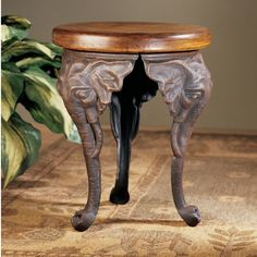 Found it at Wayfair - Three Elephants of Timbe Sculptural End Table
