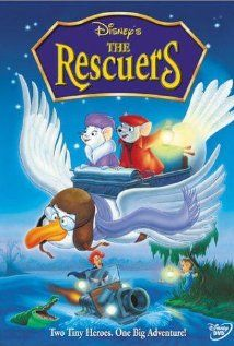 The Rescuers (1977) This is the first movie I ever went to see in the theatre, with Becky and Duane.