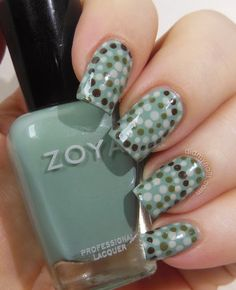 Wayback Nails: Dotted Mosaic - Did My Nails