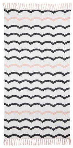 Jox Trendig, Matta i bomull, 70x140 cm, Guppig Tæpper, gulvtæpper 249kr