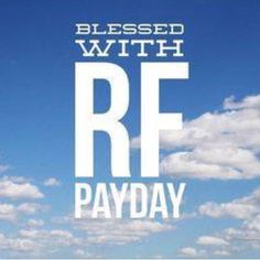 Yesterday was RF payday. What a blessing this skincare business is to me and my…