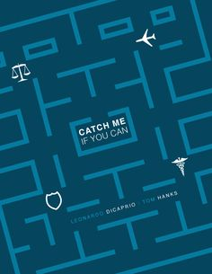 Catch Me If You Can Movie Poster by jkrout555.deviantart.com