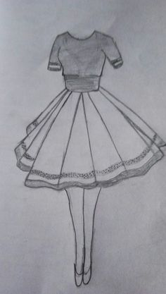 Fashion sketches 293648838205729374 - Super Ideas Disney Art Sketches Draw Fashion Illustrations Source by mariclothilde Dress Design Drawing, Girl Drawing Sketches, Dress Design Sketches, Cool Art Drawings, Fashion Design Drawings, Dress Drawing, Pencil Art Drawings, Easy Drawings, Drawing Clothes