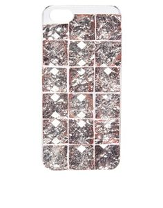 ASOS Clip On iPhone 5 Case With Jewels USD 17.80
