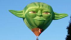 yoda green balloon