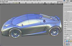 Bugatti Lemans Concept II   Trk-design