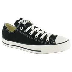 Converse Converse All Star Oxford Unisex Canvas Shoes - Black