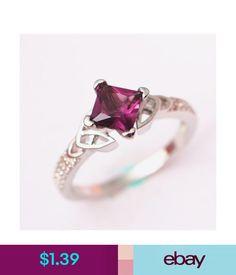 Rings Women Mystic Purple Topaz Engagement Ring Size 6,7,8,9,10 Bride Valentine's Day #ebay #Fashion