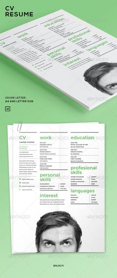 Simple Resume Template @    wwwfreebiesgallery resume - cover for a resume