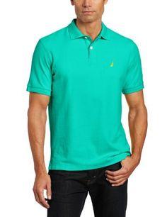 Nautica Mens Fashion Color Solid Deck Shirt, Flipper Jade, Xx-Large Nautica,http://www.amazon.com/dp/B00BSM2IGS/ref=cm_sw_r_pi_dp_Y3iNrb7E6098429C