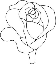 Darryl's Stained Glass Patterns rose