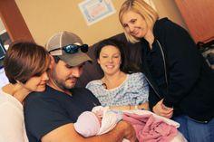 Casey Green Photography | Birth Photographer | Birth Photos | Metro Atlanta Photographer  | creative way to include the new grandmothers www.caseygreenphoto.com