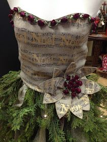I've been dreaming of creating a Christmas Tree using a Mannequin Dress Form. A local interior designer, Joyce Konstantinow, who is ...