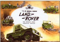 Land Rover #advertisement #ad #vintage #print #landrover #suv #bennettjlr #allentown #pennsylvania