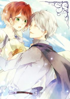 Akagami no Shirayukihime / Snow White with the red hair anime and manga || Prince Zen and Shirayuki