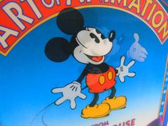 Disney's Art of Animation From Mickey Mouse To by 777VintageStreet