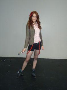 female Dr. Who costume. Cute twist on it
