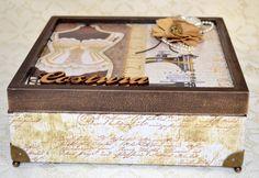 Caixa de Costura sem divisórias | Feito com as mãos, artesanatos exclusivos | Elo7