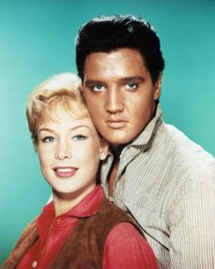 Elvis and  Barbara in Flaming Star