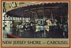 Asbury Park.        Brass Ring: On older carousels, you could grab the brass ring to win a free ride. Now in this politically-correct, sue-happy age, the brass rings are mostly gone. Additionally, the brass rings (or wood or plastic later on) would find their way into trash heaps, be flung to break windows, etc., so insurance became a factor in their demise even before political-correctness took hold.