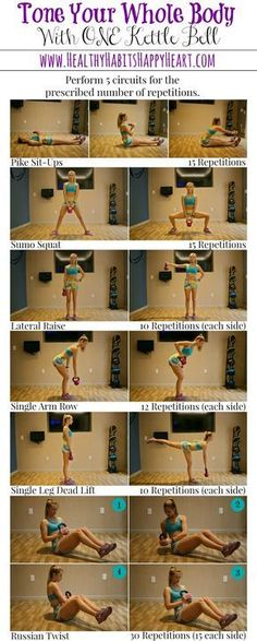 Kettle Bell Workout - Full Body | Posted By: CustomWeightLossProgram.com