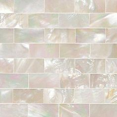 Just beautiful! Daltile Ocean Jewels 2 Accent Tile in Mother of Pearl. I'm thinking kitchen backsplash. Kitchen Wall Tiles, Kitchen Backsplash, Backsplash Ideas, Bathroom Flooring, Bathroom Tiling, Rustic Backsplash, Travertine Backsplash, Beadboard Backsplash, Herringbone Backsplash