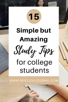 study tips for college students | my favorite study secrets for students in college | college study tips Good Study Habits, Study Tips, Student Studying, College Students, How To Pass Exams, College Admission Essay, Study Board, Organization Skills, College Planning