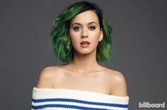 Katy Perry's hair! Not the color, but the application