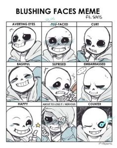 Explore the undertale fan-art collection - the favourite images chosen by on DeviantArt. Undertale Comic, Undertale Undertale, Undertale Drawings, Frisk, Undertale Pictures, Sans Anime, Anime W, Blushing Face, Toby Fox