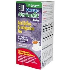 Bell Lifestyle Products Acid Reflux & Indigestion Tea 30 Bags by Bell Lifestyle. $9.73. All natural ingredients. helps with indigestion. all natural tea. helps with acid reflux. Soothing and relaxing action to the stomach, promotes good digestion, relieves indigestion, acts as an anti-acid, relieves abdominal pain and gastrointestinal spasms.  Unique combination of herbs will act as an anti-acid reflux reduction.  Helps to prevent bloating, indigestion, relieves ab...