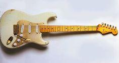 David Gilmour's Fender Stratocaster.