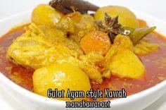 Gulai Ayam style Kawah