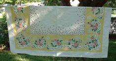 Vintage+Tablecloths!