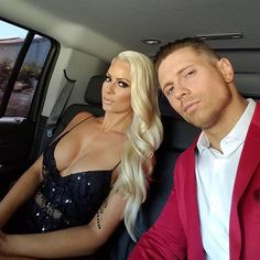 #Repost @mikethemiz ・・・ How gorgeous is my wife @therealmaryseouellet Headed to the @espys gonna Facebook live from the red carpet shortly #espyawards2016