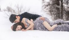 This bride is our fashion muse! How stunning is this intimate Hokkaido winter prewedding session?