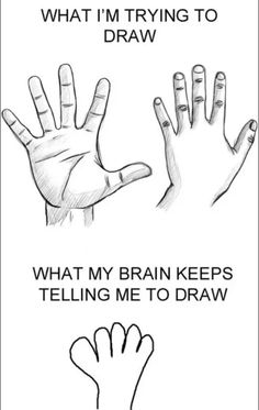 I know the struggle, even with cartoon hands.