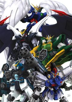 GUNDAM GUY: Awesome Gundam Digital Artworks [Updated 10/6/15]