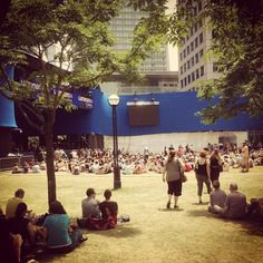It's the perfect day for some outdoor music, June 16 - Tweeted by @mrecock