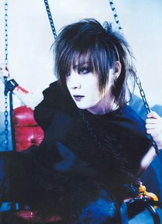 Kai (Yutaka Uke) from the GazettE. His name is uke!! Lol