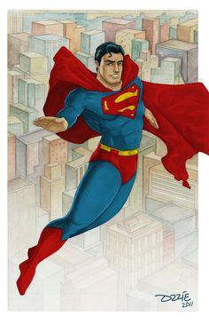 Ozzie Rodriguez Comic Blog: Superman