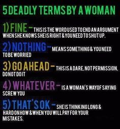 i'd say this is mostly true ;) except the last one. i'm not into revenge. and the first one...if i'm right in an argument i will continue until i'm told i'm right ;)