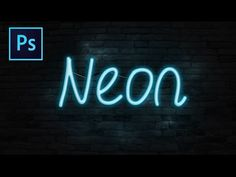 Learn how to create a realistic neon text effect. In this Photoshop tutorial we will be focusing on. Adding a brick wall background. Then darkening it up to ...