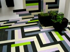 A rubber parquet made of recycled car tires. | Apokalyps Labotek