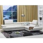 $1889.00 TOSH Furniture - 711 Leather Sectional Sofa - FY711-2