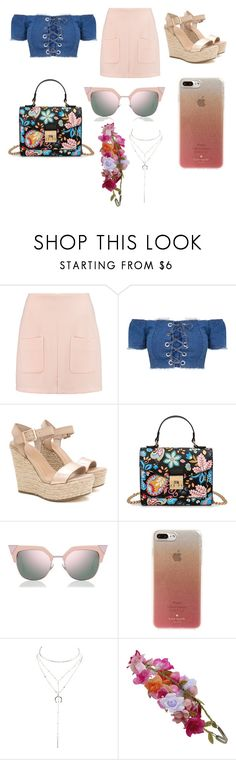 """""""Untitled #308"""" by alexandriamcbride on Polyvore featuring See by Chloé, Fendi, Kate Spade, Charlotte Russe and Accessorize"""