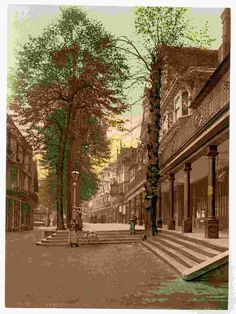 new to site Tunbridge Wells, The Pantiles, looking south, England
