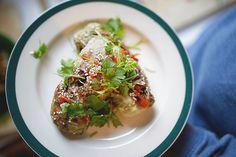 Teriyaki cabbage rolls